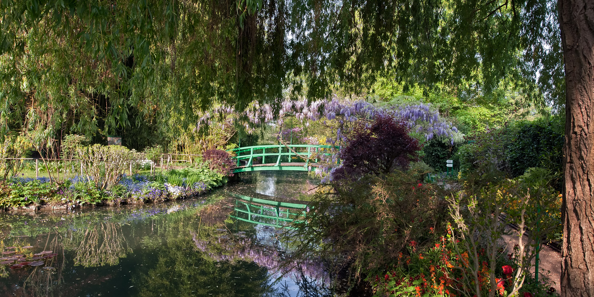 Fondation claude monet le jardin d 39 eau fondation claude monet for Les jardins de lee