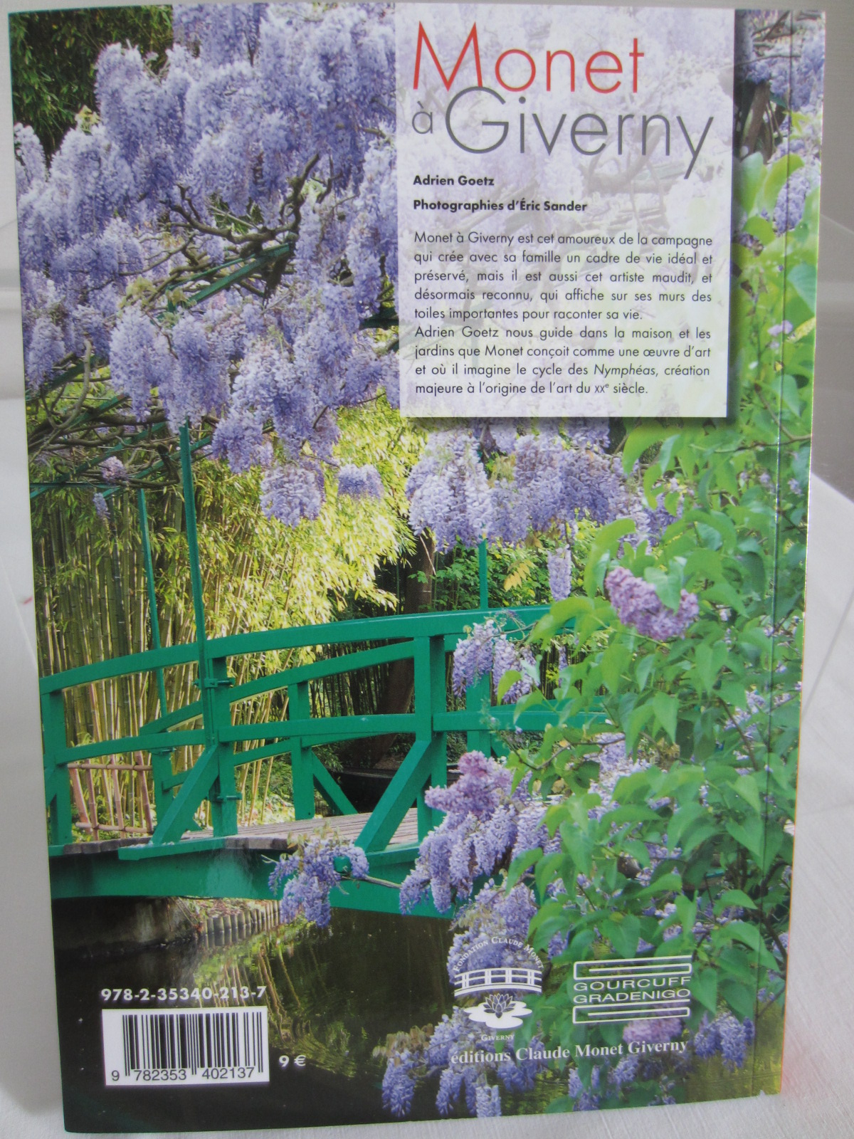 Fondation claude monet monet giverny fondation claude - Livre le jardin de monet ...